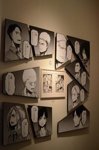 Attack on Titan Exhibit peek (6)