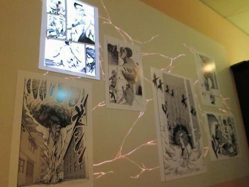 Attack on Titan Exhibit peek (8)