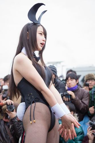 Cosplayer super imut Comiket 87 (10)