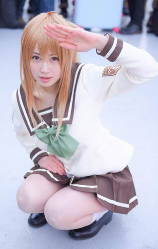 Cosplayer super imut Comiket 87 (4)