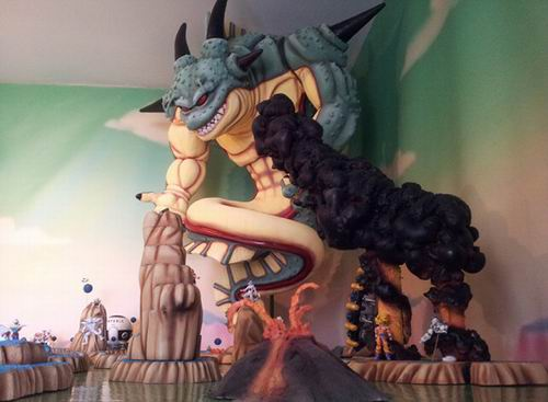 Diorama Dragon Ball Z (1)