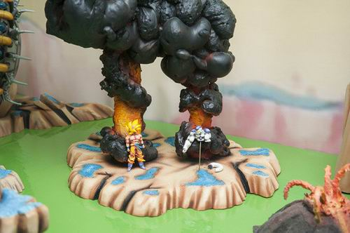 Diorama Dragon Ball Z (2)