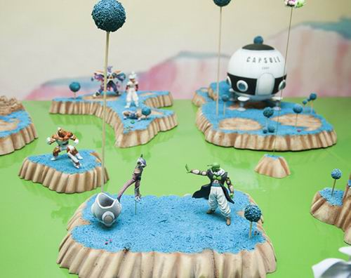Diorama Dragon Ball Z (5)