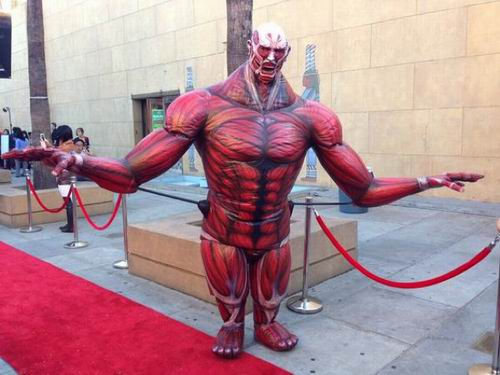 Film live-action Attack on Titan diputar perdana di Hollywood (4)