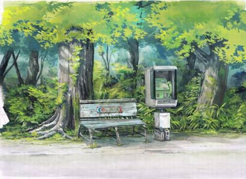 Foreign Artist Nails Modern Japan in Watercolors (7)