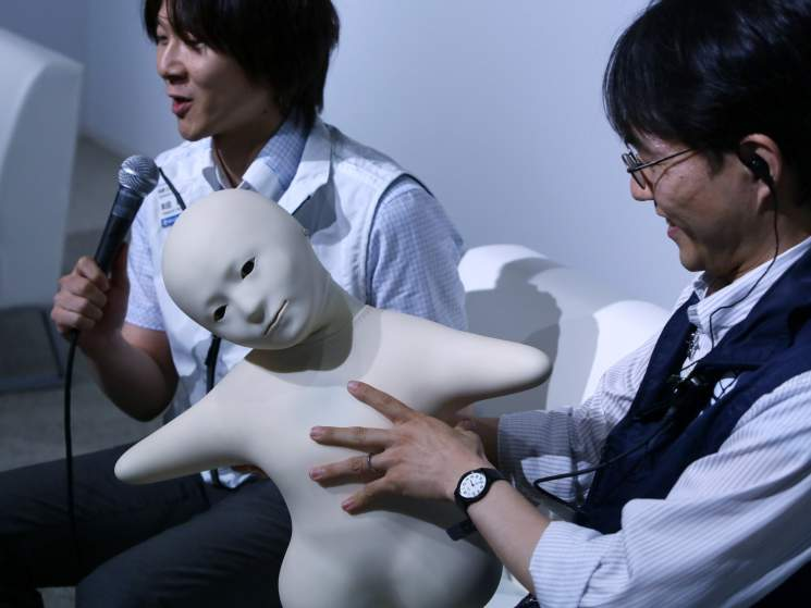 Japan Advanced Android Robots