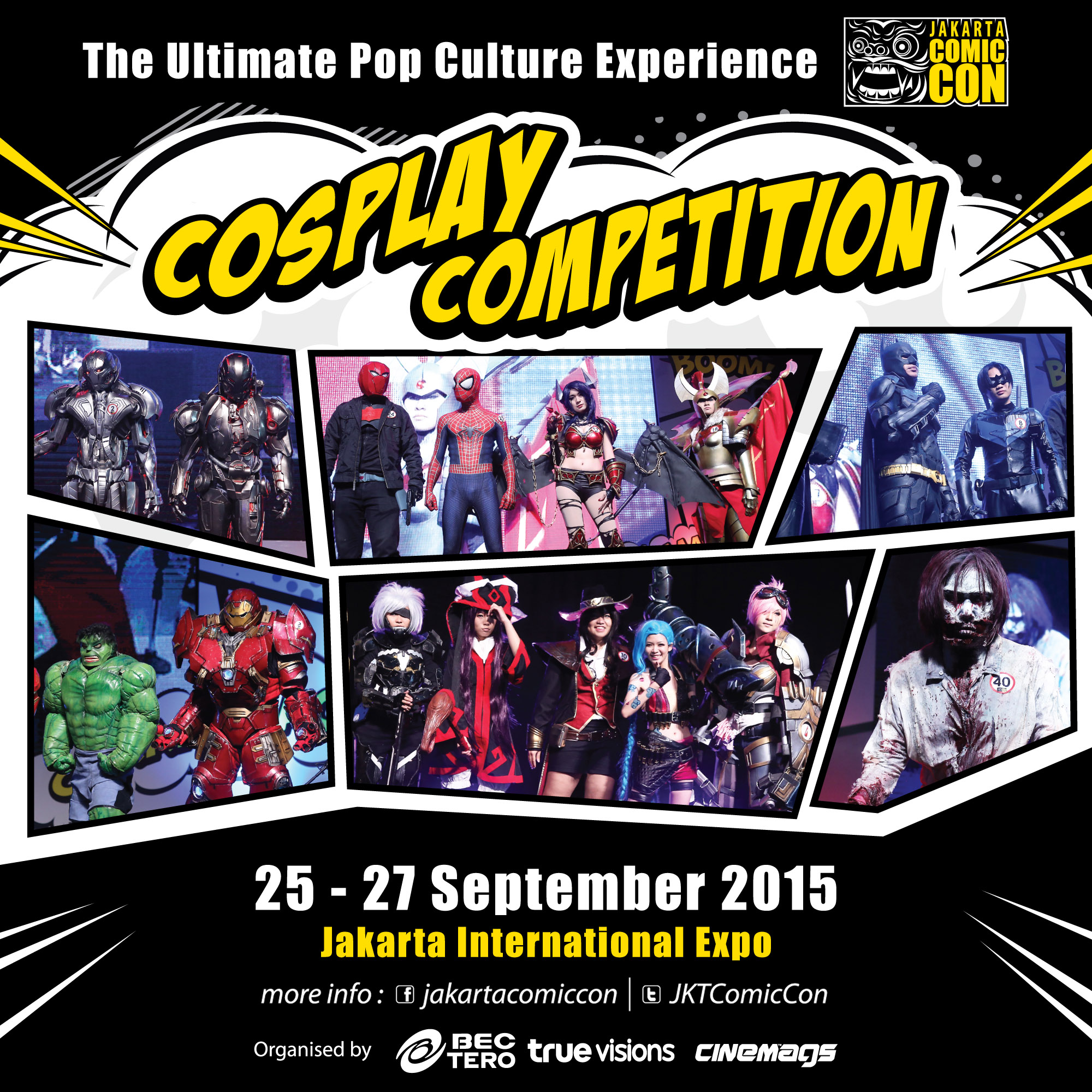 JAKARTA COMIC CON COSPLAY CONTEST 2015