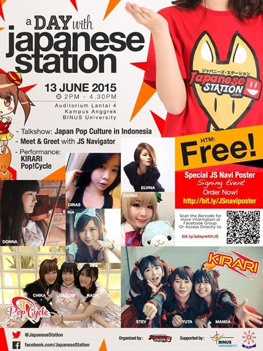 Japanese Station present A Day With Japanese Station!