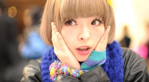 Kyary+Pamyu+Pamyu+with+short+hair