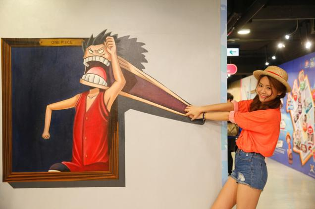 Pameran seni One Piece 3D! (1)