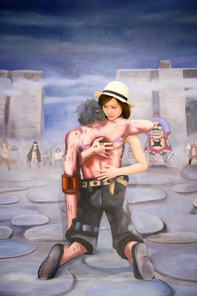 Pameran seni One Piece 3D! (3)