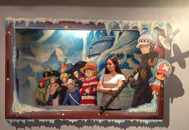 Pameran seni One Piece 3D! (4)