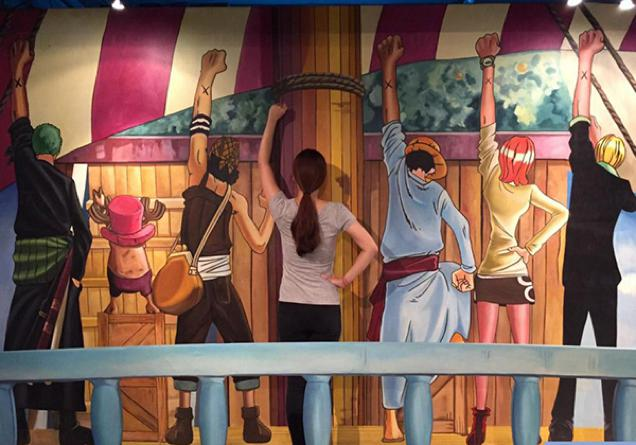Pameran seni One Piece 3D! (9)
