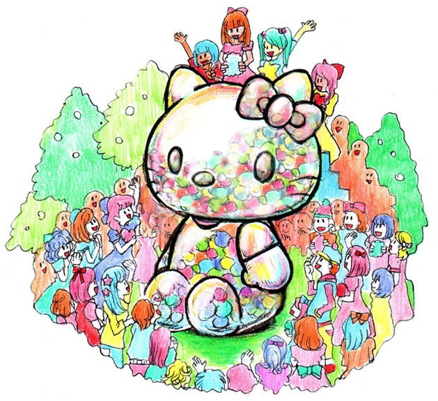 Sebastian Masuda, New York Hello Kitty (2)