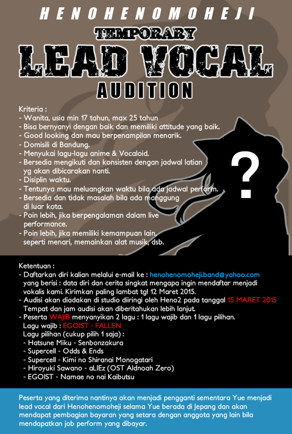 VOCAL-AUDITION