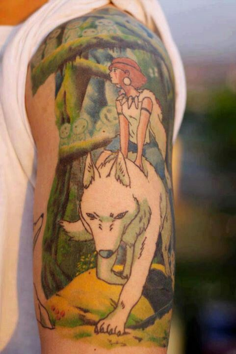 ghibli tattoo (15)