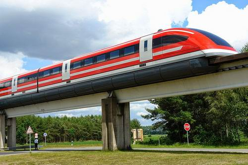 MagLev Transrapid 09, Jerman.