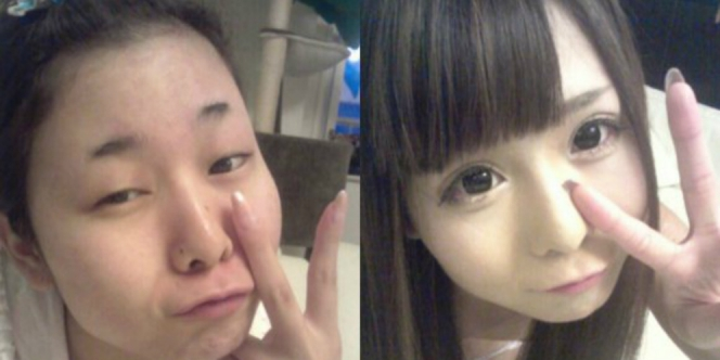 Before Dan After Ruki-chan (rocketnews24.com)