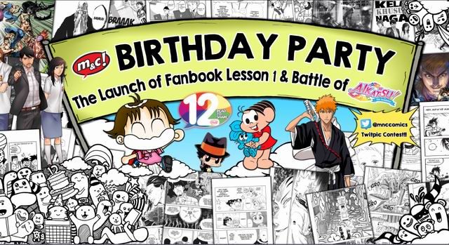 m&c! 12th Birthday Party, Launching Fanbook Lesson 1 & Battle Game Aikatsu!