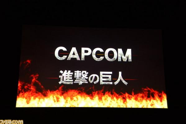 "Capcom sedang mengembangkan game arcade ""Attack on Titan"""