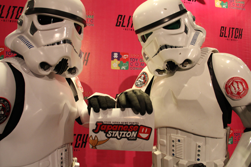 storm troopers dengan Japanese Station