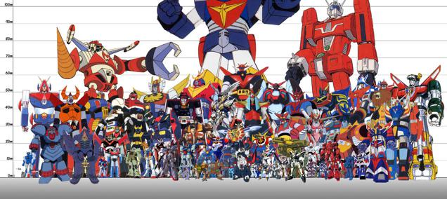 super robot & mecha (1)