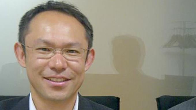 Takashi Tsuzuura, Ass General Manager Seven Bank Ltd. (Koresponden Tribunnews.com/Richard Susilo)