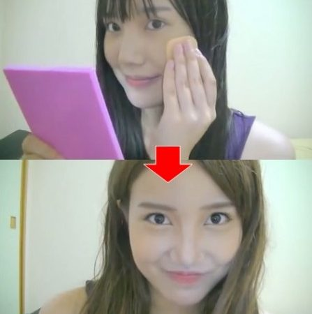 [video] Tutorial makeup ala Tomomi Itano
